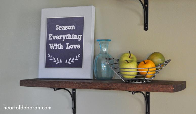 Season Everything with Love Printable