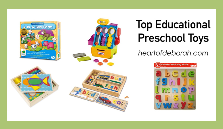 Looking for educational and fun toys for preschoolers? Check out the best STEM, Literacy, Fine Motor & Gross Motor toys for children ages 2 to 3.