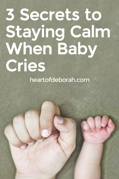 Do you find yourself getting frustrated when your baby is crying? Here are 3 ways to remain calm when your baby cries as a newborn.