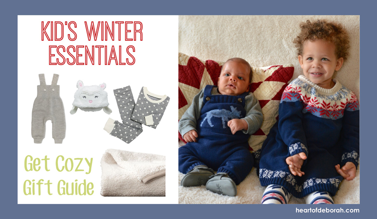 Looking for the perfect holiday gift? Check out these 10 kid's winter essentials. This gift guide features cozy, comfortable and cute ways to stay warm!