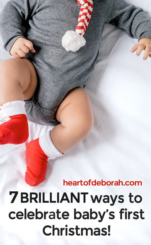 It's your baby's first Christmas and you want to celebrate! Here are 7 unique family fun traditions to start with your baby this holiday season.