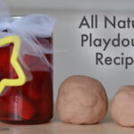 All Natural Playdough Recipe