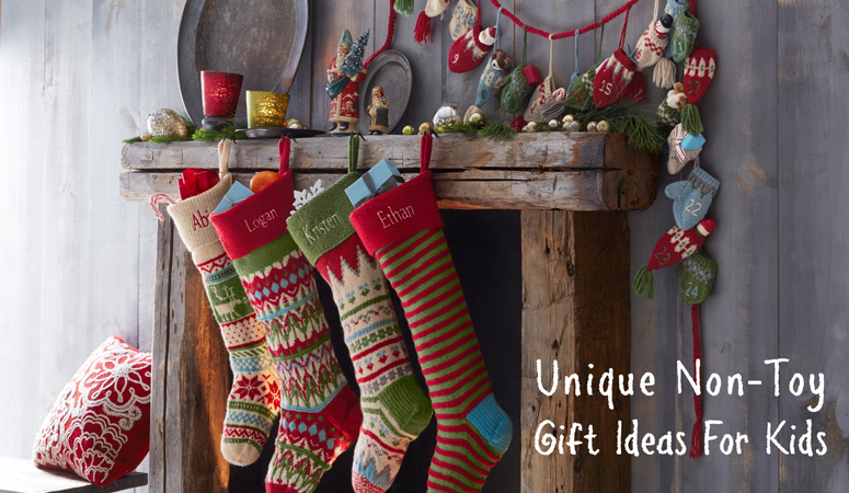 Tired of toys taking over your house? Consider one of these unique non-toy gift ideas for Christmas this year!