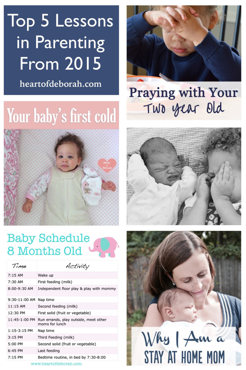 Parenthood is tough! Here are my top 5 parenting posts from 2015.