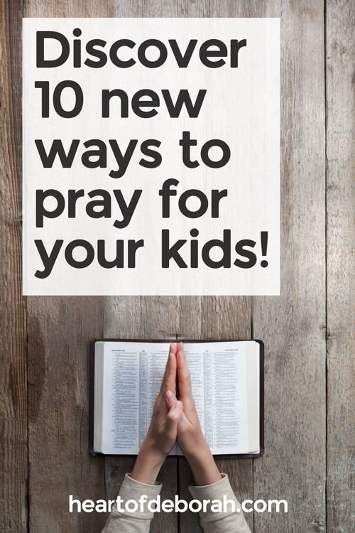 "Prayer is power. As parents we need to do this daily for our children. Here are 10 powerful scriptures to pray for your children. Share the encouraging verses with your kids and let them know ""I prayed for you."""