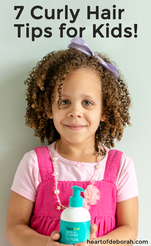 Everything You Ever Wanted To Know About Curly Hair Care For Kids