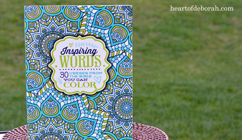 Inspiring Words Coloring Book + Giveaway