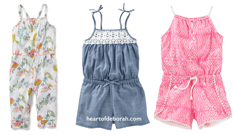Toddler Girl Rompers