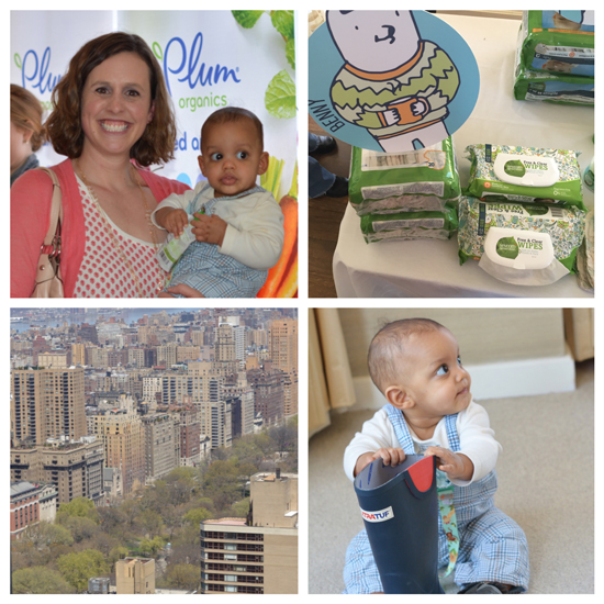 Blogging event at the London NYC Penthouse - The CBC Parenting Experience
