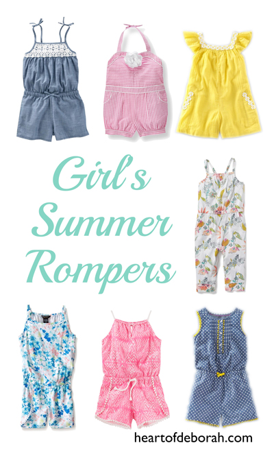 4057aed62a3 My Favorite Toddler Girl Rompers for Summer! I ve been on the hunt for