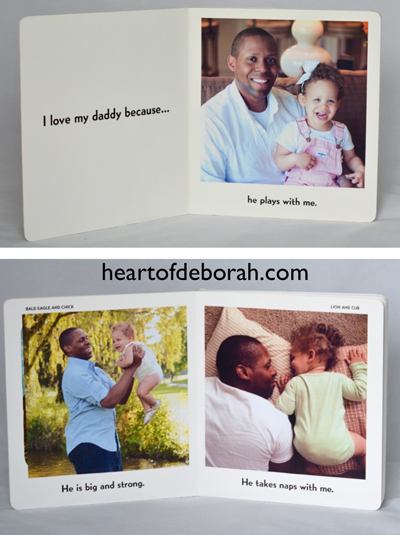 Looking for a unique DIY gift idea for parents? Create this personalized board book as a DIY gift from kids! Perfect for Mother's Day or Father's Day.
