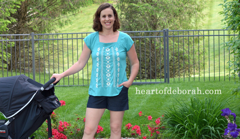 Summer clothing to flatter a post baby body heart of deborah