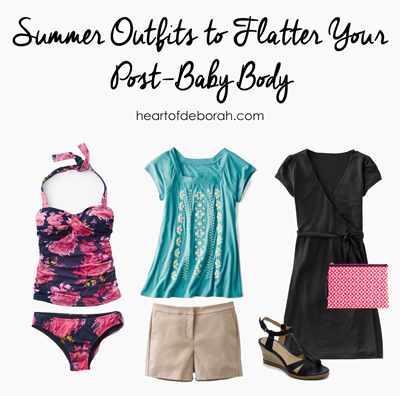 Finding the right clothes makes a big difference in confidence! As a mom of two, I'm embracing my post-baby body and I found the best summer clothes to compliment my new figure