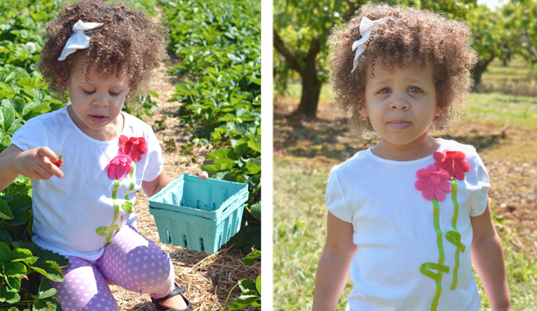 Do you have a special summer tradition with your family? Fruit picking is our new summer gem! We had family fun while incorporating a low key learning experience.