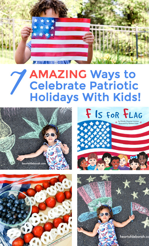 Looking for a fun way to introduce your kids to Independence Day? Here are 7 ways to help your kids celebrate 4th of July! #familyfun #patriotic #4thofjuly #kidsactivities