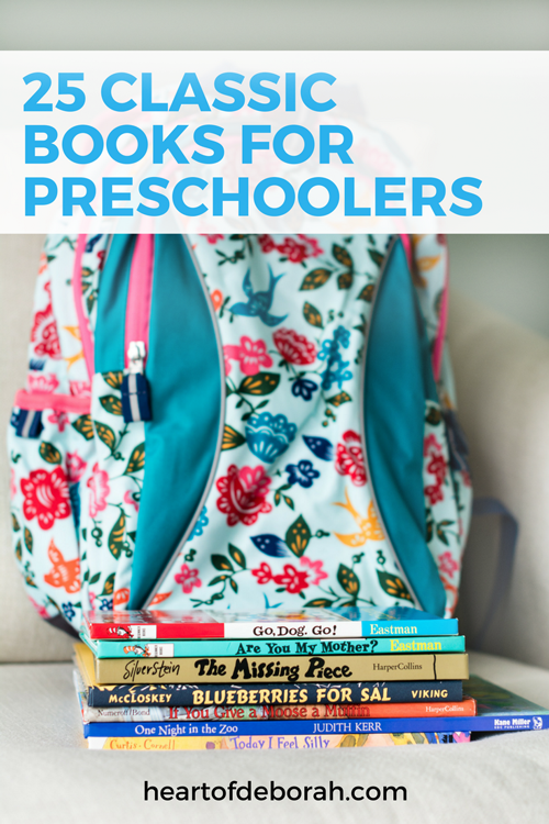 Top 25 Books for Preschoolers. Includes diverse books for learning, social emotional development and laughter for your preschool children.
