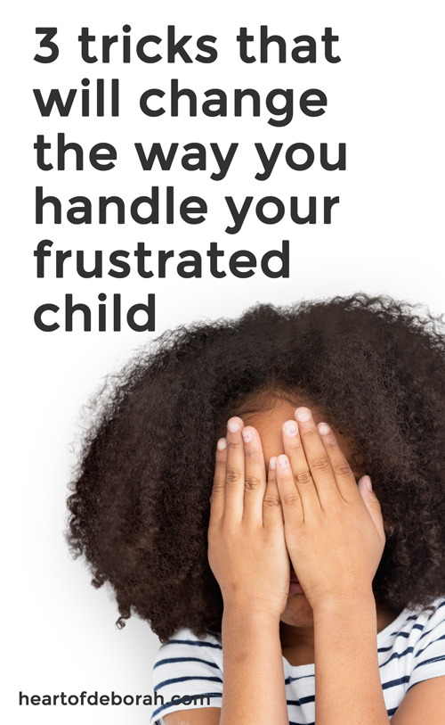 Do you have a child who gets frustrated easily? As parents we aren't always sure how to respond. Try teaching your child self-talk! It will build their emotional intelligence and help your low frustration tolerance child to deal with adversity. #parenting