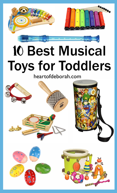 Want to expose your child to different beats, melodies, and instruments? Try engaging them in play with one of the best musical toys for toddlers!
