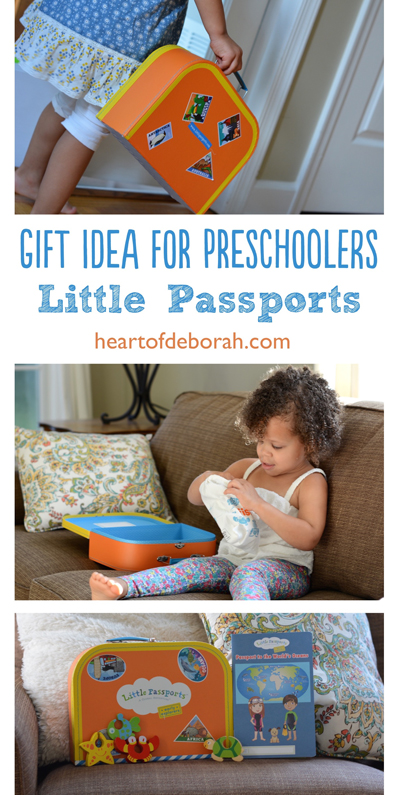 Searching for the perfect educational gift for your preschooler? Check out Little Passports early explorers. Kids love getting new mail each month and exploring different parts of the world.