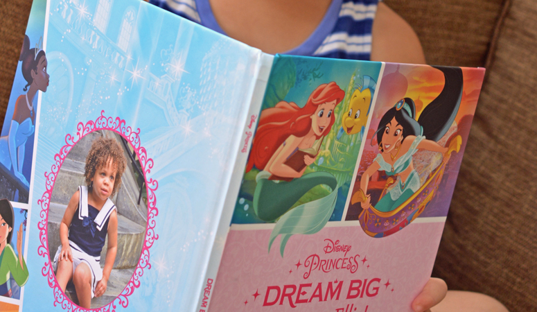 Is your daughter obsessed with Disney Princesses? The new Disney's Princess Dream Big book is the perfect personalized gift idea for your young reader! My daughter loved how her picture was right next to The Little Mermaid.