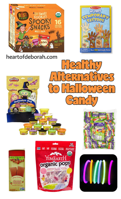 Worried about too much candy consumption this Halloween? Here are 5 healthy alternatives to halloween candy for your kids this fall!
