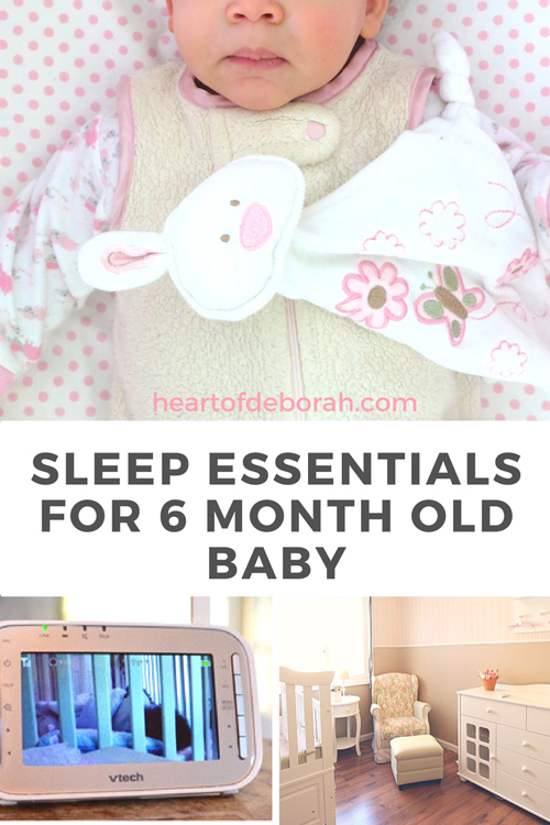 My top items for a 6 month old baby. Sleep as a new parent is so important. Here are sleep essentials you need for your baby to get a good night's rest.