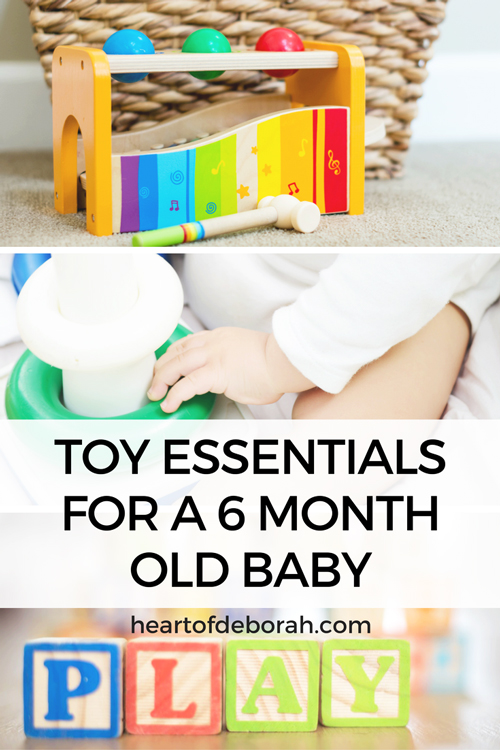 My top items for a 6 month old baby. Baby toys and tools I couldn't live without as a new mom.