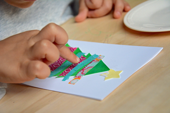 i love this adorable kids craft make your own greeting cards with holiday season with