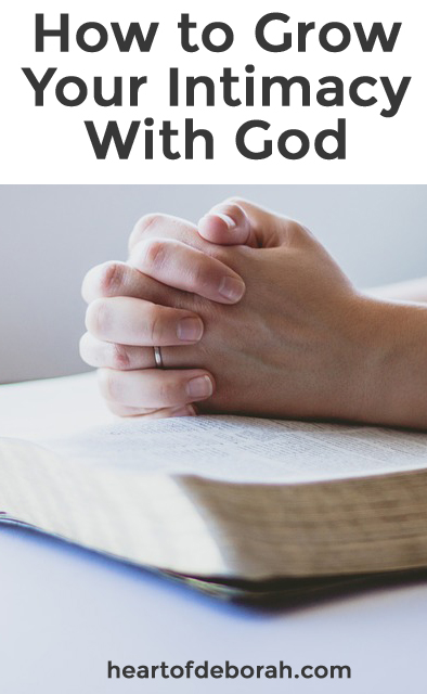 Does God really care about the details of your life? Read how to find intimacy with God and how much it means to Him!   Christian living and parenting at Heartofdeborah.com