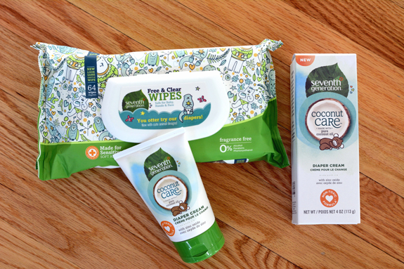 We love seventh generation coconut care line. It's great natural baby products you can feel good about!