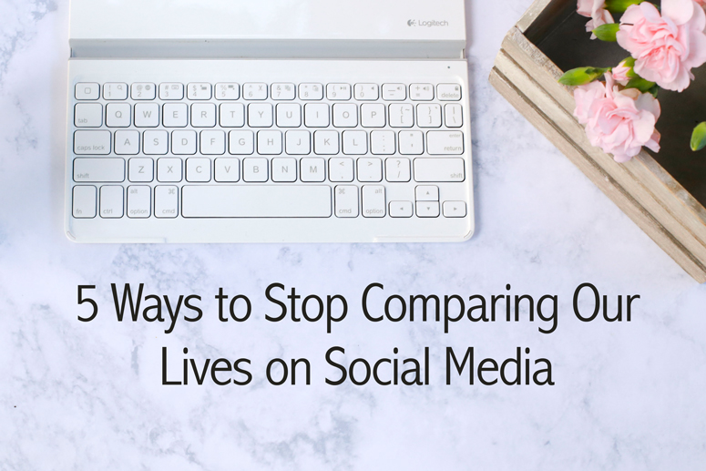 Do you ever fall into the social media comparison trap? Feel worse after viewing Facebook? Here are 5 ways to stop comparing your lives with others.