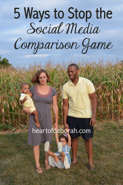 Do you ever fall into the social media comparison trap? Feel worse after viewing photos of other's lives online? Here are 5 ways to stop comparing your lives with others.
