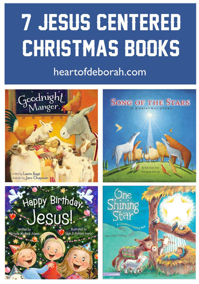 Share the Christmas story with your baby using these 7 Jesus-Centered Christmas Board Books. In this list you will find children's books with beautiful illustrations and fun rhyming text to engage your child!