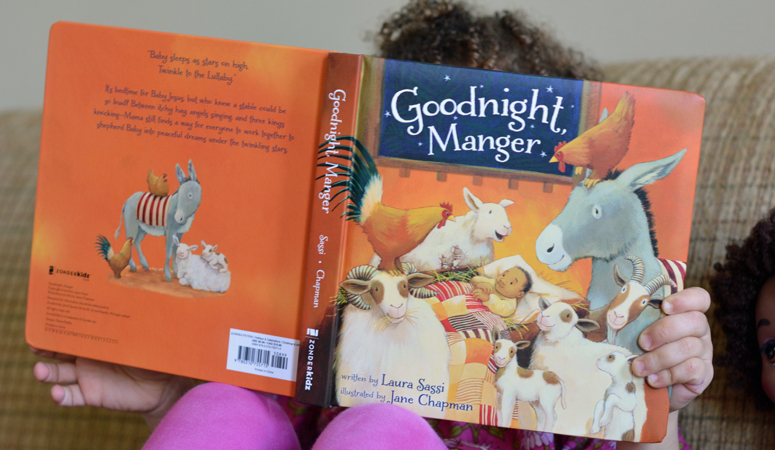 Finding the joy of Christmas from the author of children's book Goodnight, Manger, Laura Sassi. Her story to becoming a Christian and the inspiration behind the book!