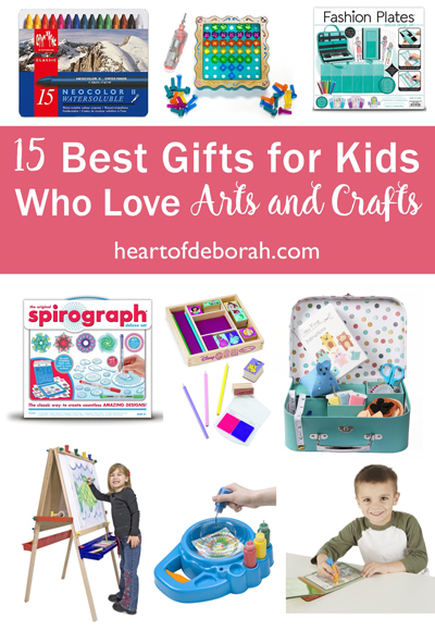 Does your preschooler love painting and creating? Here are 15 of the best gifts for kids who love arts and crafts. Your budding artist will love these unique gifts.