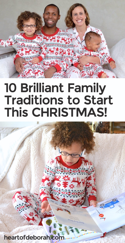 10 BRILLANT family traditions to start this Christmas. I love number 8!