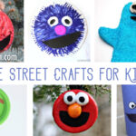 Sesame Street Crafts for Kids