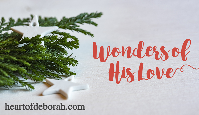What does Wonders of His Love Really Mean? An Advent Devotional