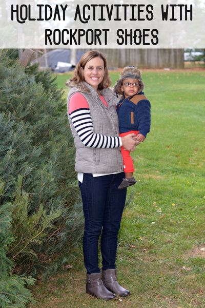 A favorite family Christmas tradition is heading to the farm and choosing a tree. Here are 4 tips to choosing the best Christmas tree this holiday season. P.S. How cute are those Rockport boots?