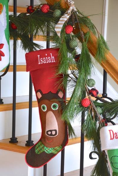 A tree and stockings make such a difference in your home. You don't need to go all out to have a wonderful Christmas. Embrace the season with less stress!