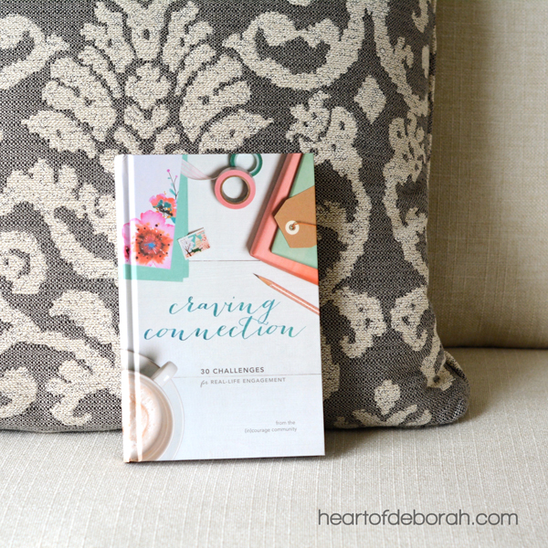 Are you craving real connection? You are not alone mama! Motherhood isn't easy, but it's better when shared with friends. Find encouragement for motherhood, friendship and your relationship with God in this new book, Craving Connections, by (in)courage.