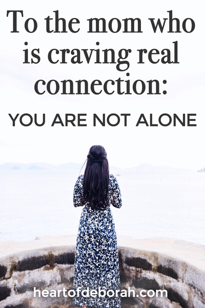 Are you craving real connection? You are not alone mama! Motherhood isn't easy, but it's better when shared with friends. Find encouragement formotherhood, friendship and your relationship with God in this new book, Craving Connections, by (in)courage.