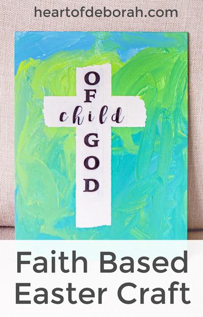 Cross Craft For Preschooler