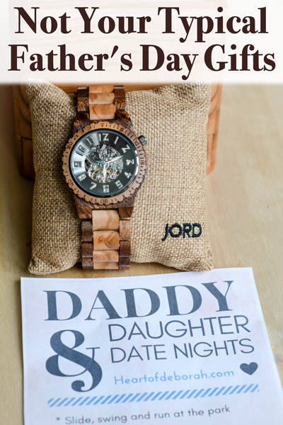 Not your typical father 39 s day gifts thoughtful unique for Creative gifts for dad from daughter