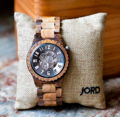 Not Your Typical Father's Day Gifts! Check out this beautiful JORD watch.