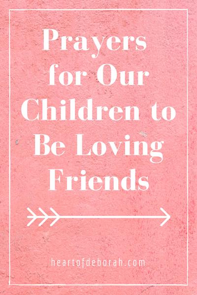Prayer for true friendship