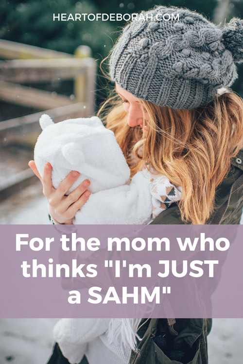 Wow this is so encouraging to me as a SAHM! Motherhood isn't easy, but we can find purpose as stay at home moms. #motherhood #SAHM #momlife #encouragement