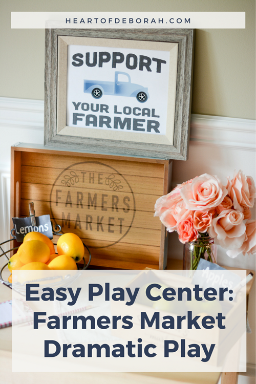 Create 7 EASY dramatic play centers in your own home. Use these ideas and free printables to get started on your imaginary play.
