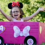 DIY Mickey and the Roadster Racers Cardboard Box Car