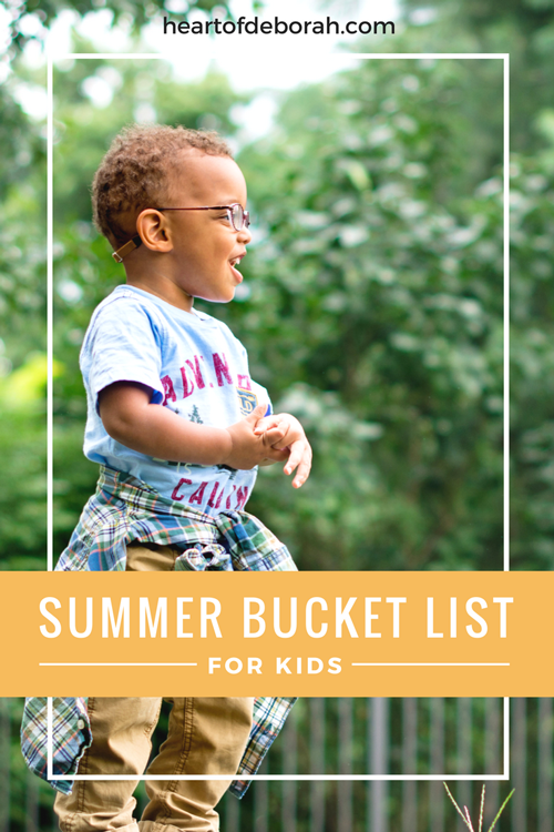 Looking to celebrate the last days of summer? Here is an awesome end of summer bucket list for kids! Also don't miss a special deal from Carter's to shop back to school in style.
